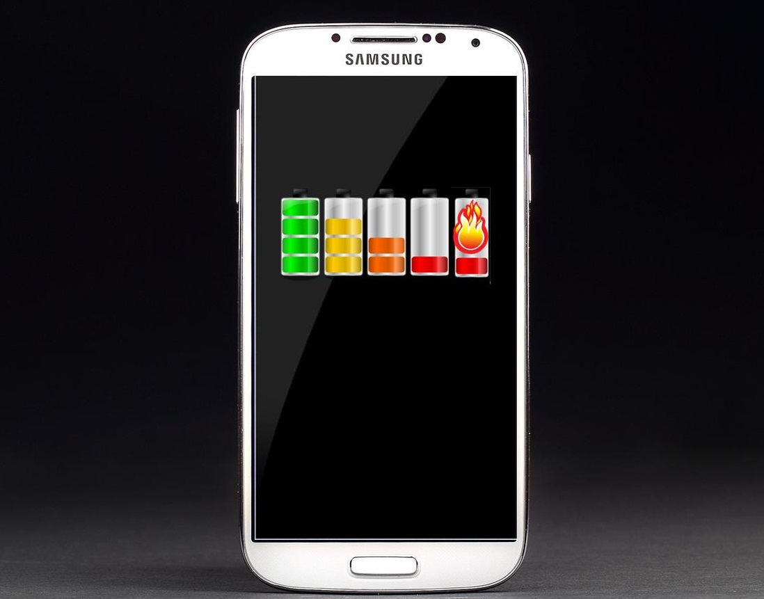 Smartphone battery problems found in the Samsung Galaxy S4