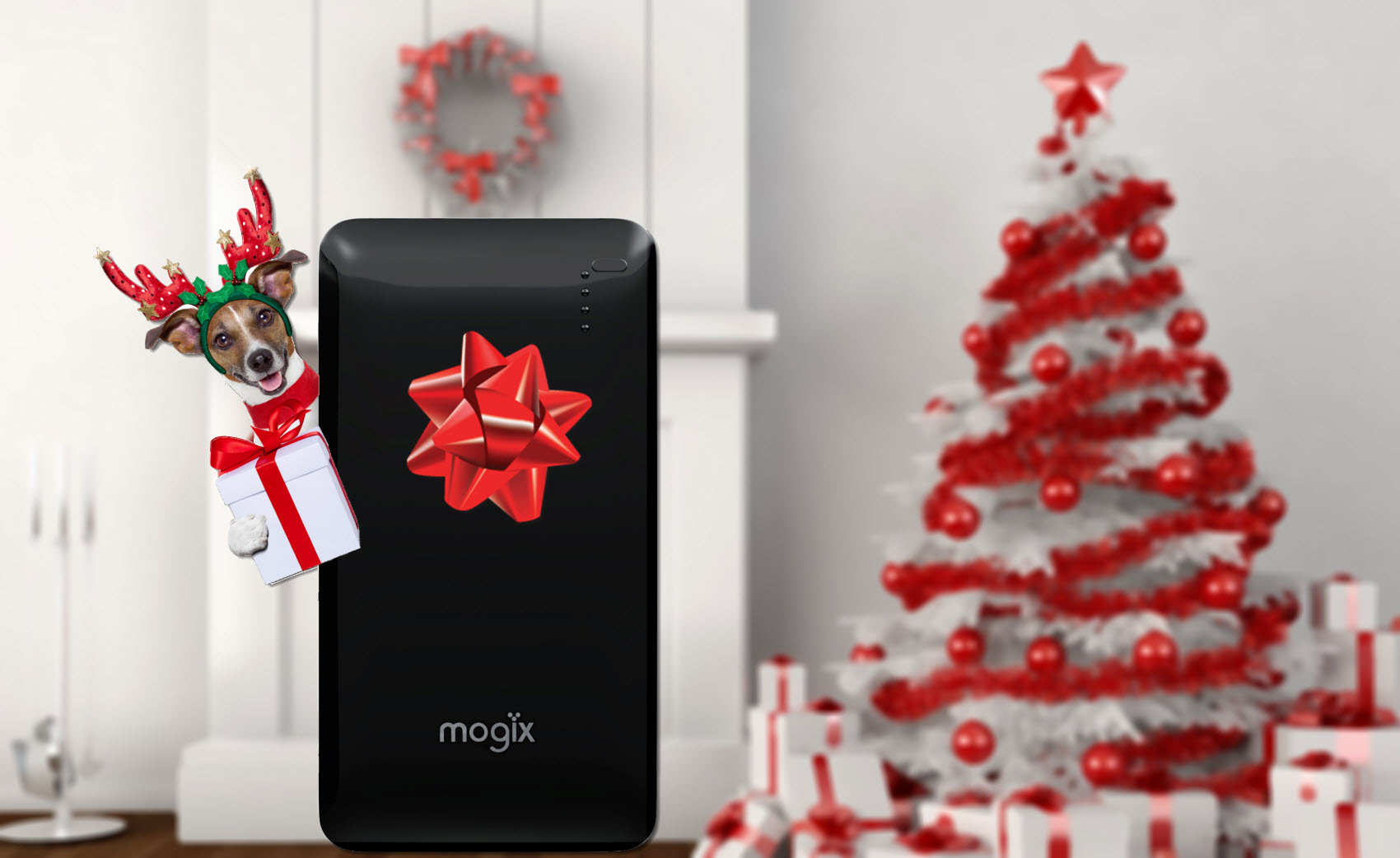 top gadgets christmas gift Mogix portable battery charger