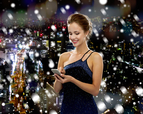 mobile tech shopping christmas new years holidays
