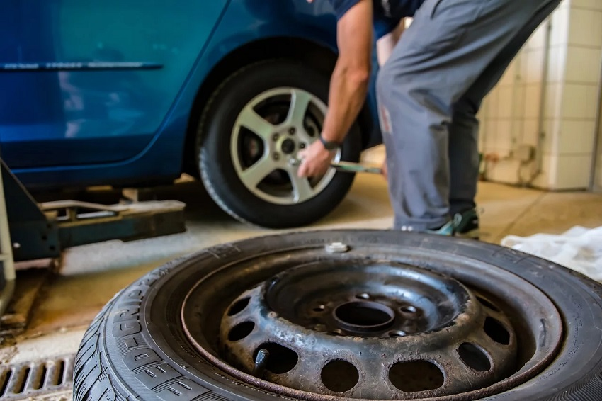 What should you include in your springtime tire maintenance routine?